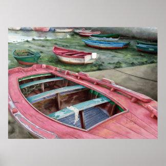 Barcas / Boats. Poster