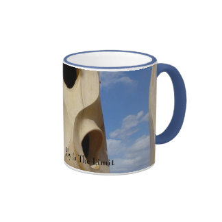 Barcellona - The Sky Is The Limit Ringer Coffee Mug
