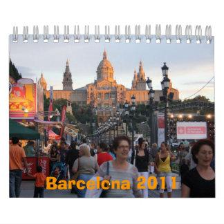 Barcelona 2011 calendar