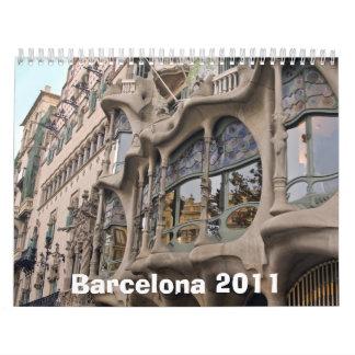 Barcelona 2011 calendario