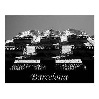 Barcelona Architecture Post Card