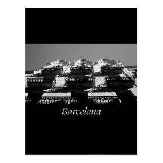 Barcelona Architecture Postcard