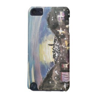 Barcelona at night (1st version) - Walter Gramatte iPod Touch (5th Generation) Cover
