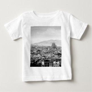 Barcelona blanco y negro remera