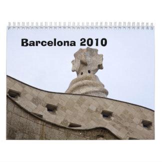 Barcelona Calendar 2010