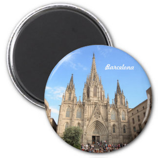 Barcelona cathedral magnet