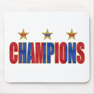 Barcelona Champions of Europe 2009 Futbol Mouse Pad