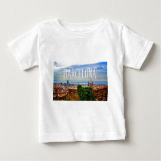 Barcelona city baby T-Shirt