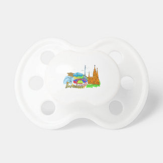barcelona city travel image png baby pacifier