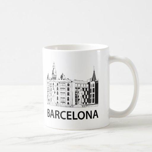 Barcelona coffee mug zazzle for Mug barcelona
