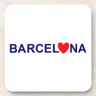 Barcelona coils drink coaster