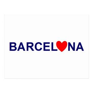 Barcelona coils post cards