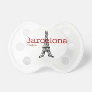 Barcelona-Eiffel by mstake Pacifier