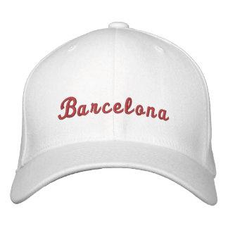Barcelona Embroidered Baseball Caps