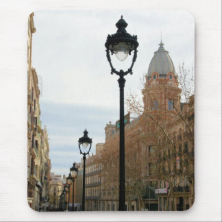 Barcelona, España - cojín de ratón Portal del Tapete De Raton