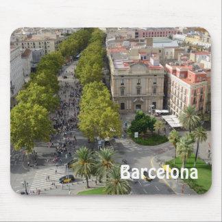 Barcelona, España Mousepad Alfombrillas De Ratones