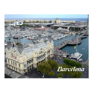 Barcelona, España Tarjeta Postal