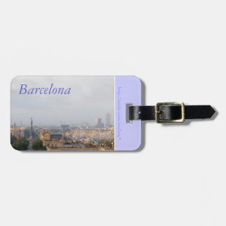 Barcelona Etiquetas Maleta
