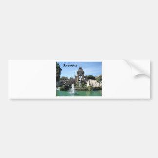 Barcelona--fountain--barc--[kan.k].JPG Bumper Sticker