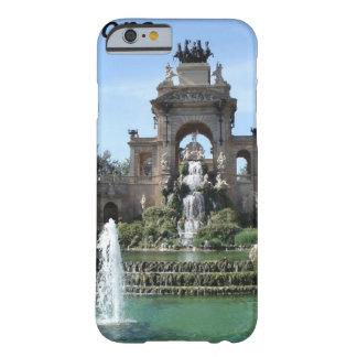Barcelona--fountain--barc-- kan k JPG iPhone 6 Case