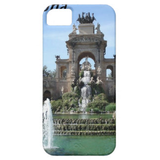 Barcelona--fountain--barc-- kan k JPG iPhone 5 Cases