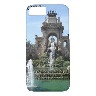 Barcelona--fountain--barc--[kan.k].JPG iPhone 7 Case