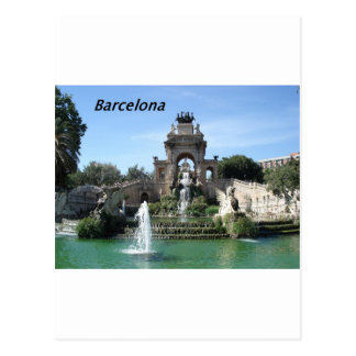 Barcelona--fountain--barc--[kan.k].JPG Postcard