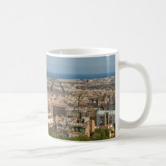 Barcelona from Park Guell Coffee Mug