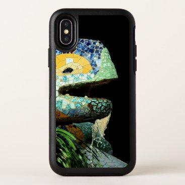 Barcelona, Gaudi, Lizard - Spain (mobile) OtterBox Symmetry iPhone XS Case