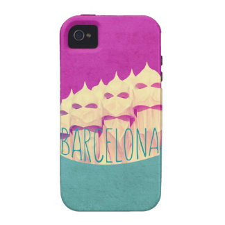 Barcelona Gaudi Paradise Case-Mate iPhone 4 Cases