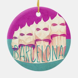 Barcelona Gaudi Paradise Ornament