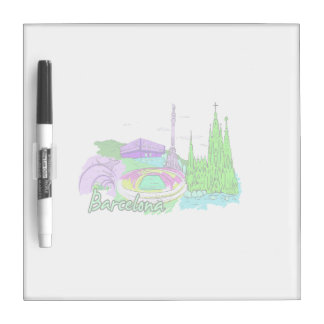 barcelona green 2 city image.png Dry-Erase boards
