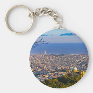 Barcelona Keychain