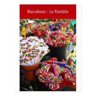 Barcelona: La Rambla Tarjetas Postales