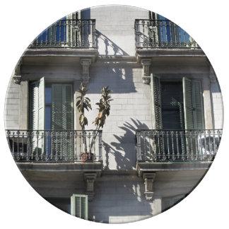 Barcelona Lifestyle Porcelain Plates