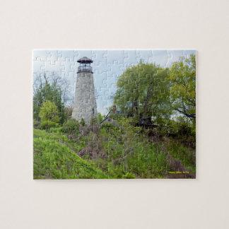 Barcelona Lighthouse, New York Jigsaw Puzzle