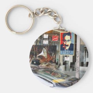 "Barcelona ""Marxism"" zazzle IMG_0530 Basic Round Button Keychain"