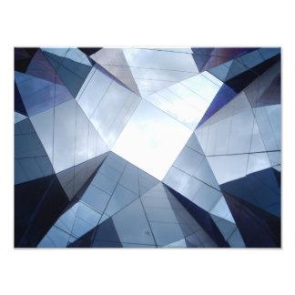 Barcelona MIRROR ceiling Building Forum- Spain Photo Print