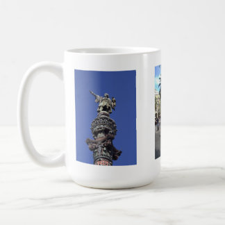Barcelona Classic White Coffee Mug