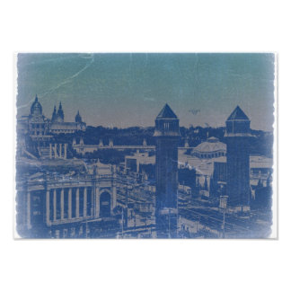 Barcelona Old Town Photo Print