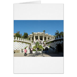 Barcelona--Parc--Guell--[kan.k] Card