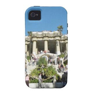 Barcelona--Parc--Guell--[kan.k] Vibe iPhone 4 Funda