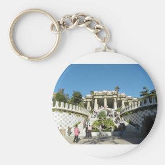 Barcelona--Parc--Guell--[kan.k] Keychain