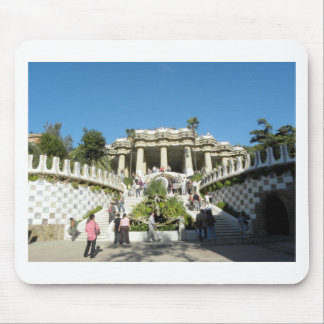Barcelona--Parc--Guell--[kan.k] Mouse Pad