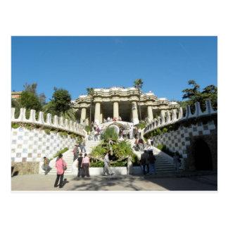 Barcelona--Parc--Guell--[kan.k] Postales