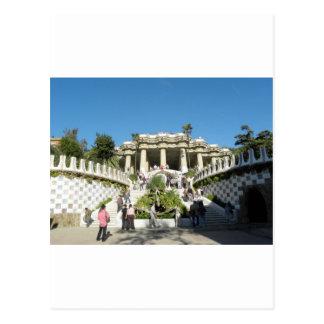 Barcelona--Parc--Guell--[kan.k] Postal