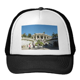 Barcelona--Parc--Guell--[kan.k] Trucker Hat