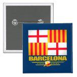 Barcelona Pinback Buttons