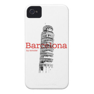Barcelona-Pisa by mstake iPhone 4 Case