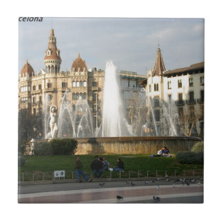 Barcelona--Plaza--Catalunya--[kan.k] .JPG Teja